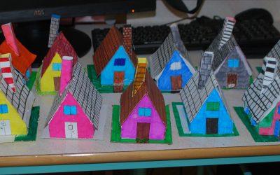 Hišice iz kartona